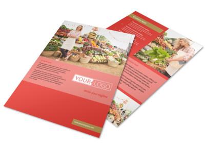 Local Farmers Market Flyer Template