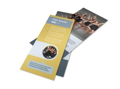 Arts Council & Education Flyer Template 2