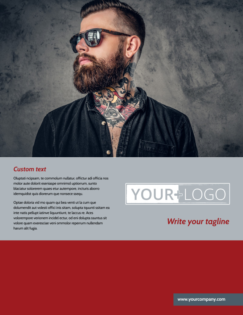 Tattoo Shop Flyer Template Preview 2