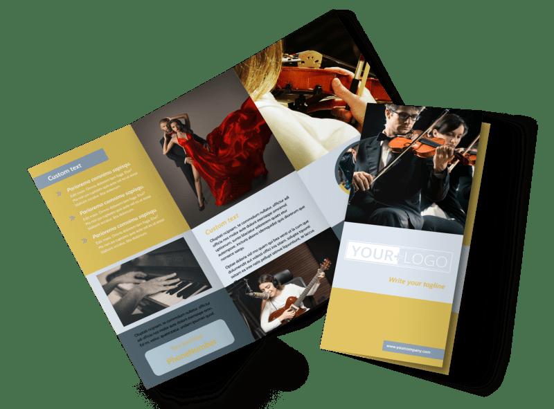 Performing Arts School Brochure Template Preview 1