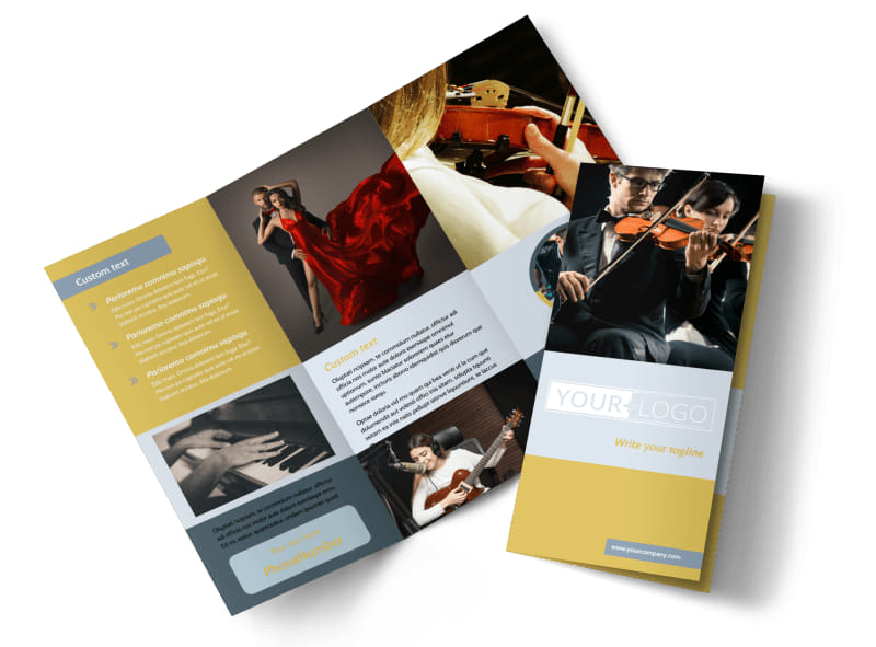 Performing Arts School Brochure Template | Mycreativeshop