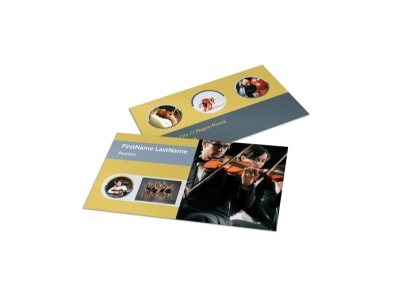 Arts Council & Education Business Card Template