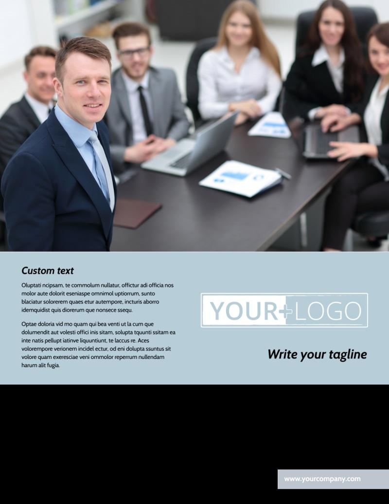 Portfolio Management Flyer Template Preview 2