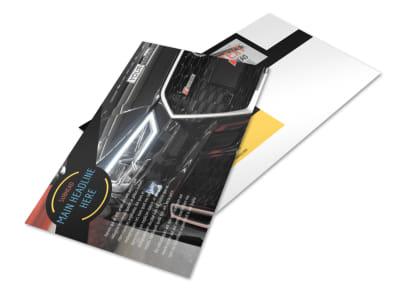 Auto Finance Postcard Template 2 preview