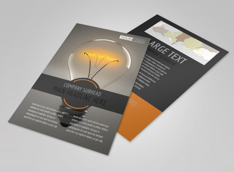 Invention Camp Flyer Template 3