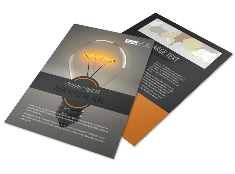 Invention Camp Flyer Template Preview 1