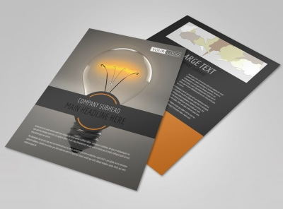 Invention Camp Flyer Template