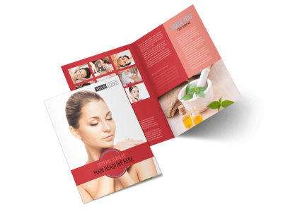 Dermatologists Bi-Fold Brochure Template 2