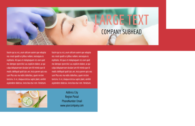 Dermatologists Postcard Template Preview 3