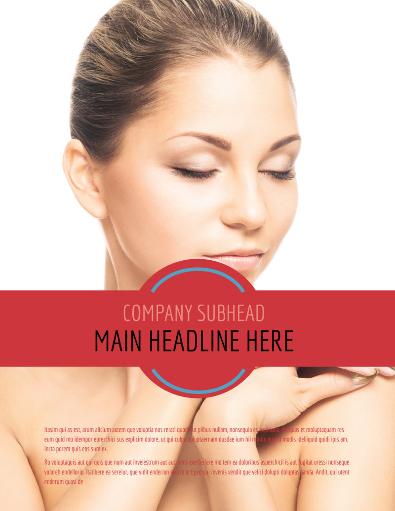 Dermatologists Flyer Template Preview 2