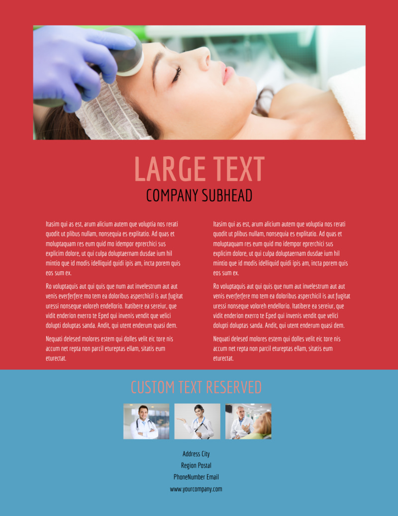 Dermatologists Flyer Template Preview 3