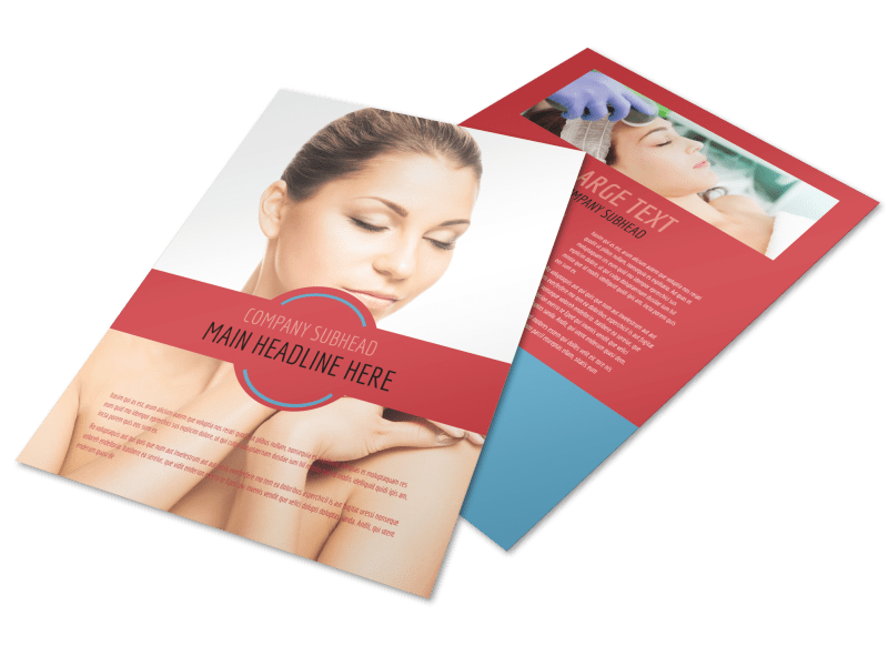Dermatologists Flyer Template Preview 1