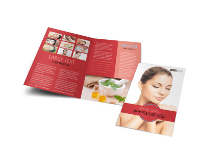 Dermatologists Bi-Fold Brochure Template