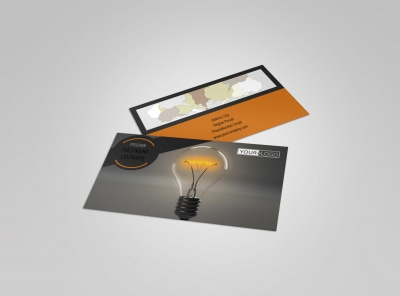 Invention Camp Business Card Template