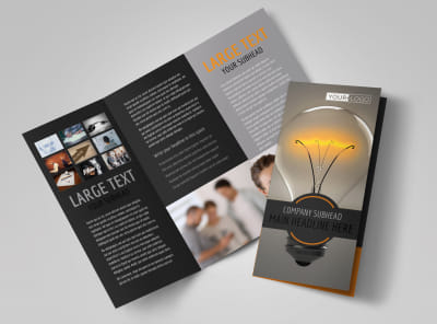 Invention Camp Tri-Fold Brochure Template
