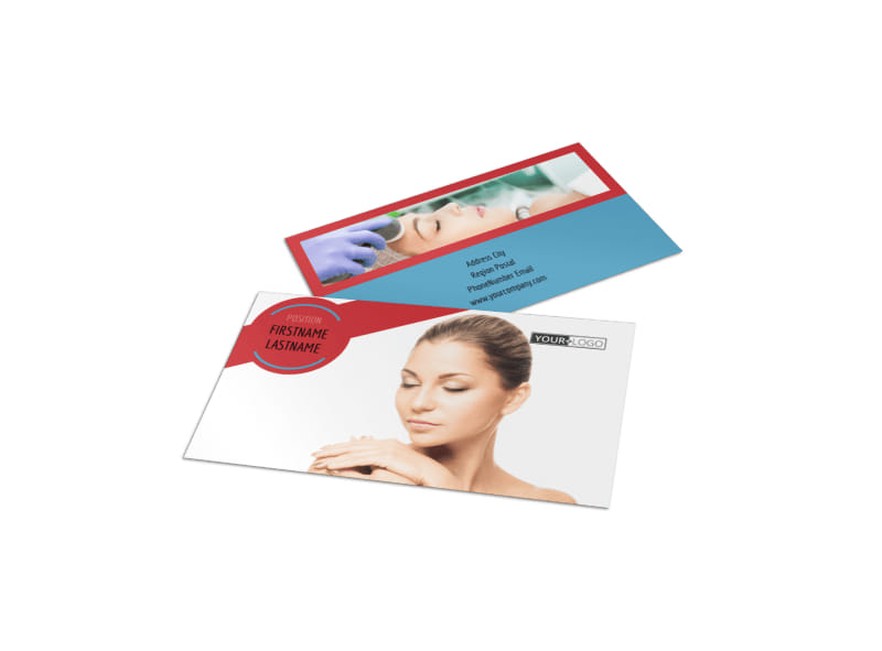 Dermatologists Business Card Template