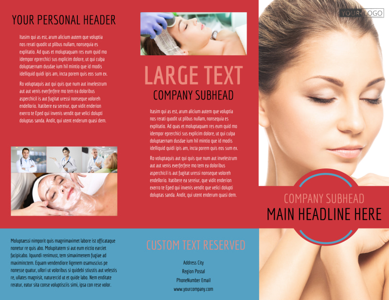 Dermatologists Brochure Template Preview 2