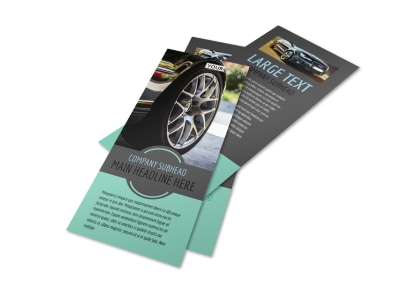 Tire Store Flyer Template 2