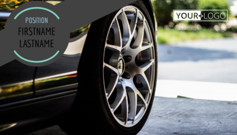 Tire Store Business Card Template Preview 2