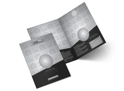 Generic Bi-Fold Brochure Template 9815