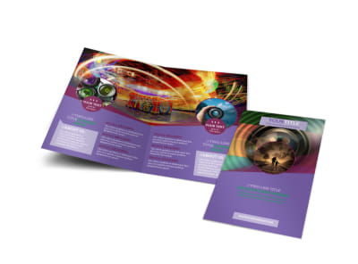 General Photography Design Bi-Fold Brochure Template