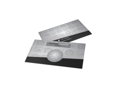 Generic Business Card Template 9823