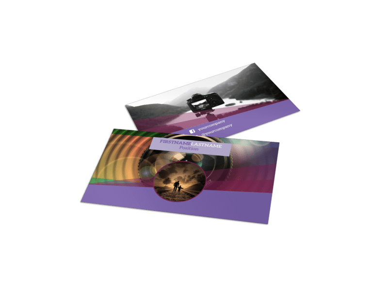 General Photography Design Business Card Template Preview 1