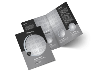 Generic Bi-Fold Brochure Template 9824