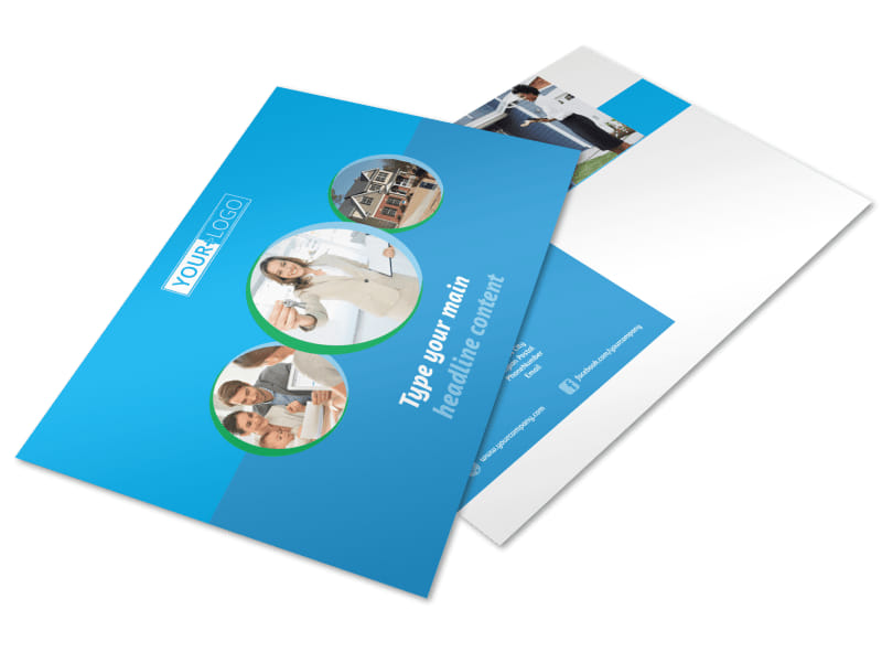 Real Estate Agent Postcard Template Preview 4
