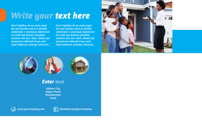 Real Estate Agent Postcard Template Preview 3