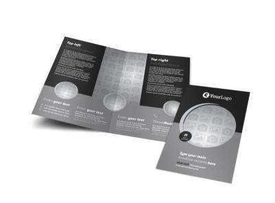 Generic Bi-Fold Brochure Template 9828