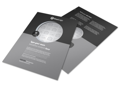 Generic Flyer Template 9829 preview