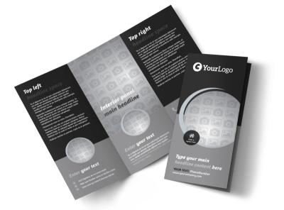 Generic Tri-Fold Brochure Template 9830