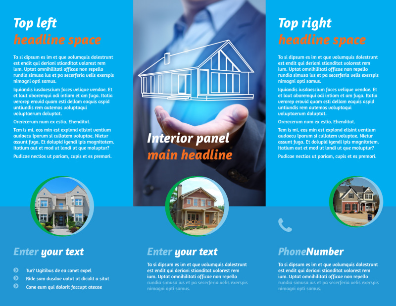Real Estate Agent Brochure Template Preview 3