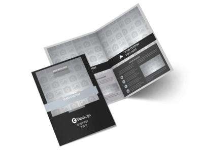 Generic Bi-Fold Brochure Template 9833