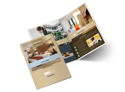 Hotels Bi-Fold Brochure Template 2