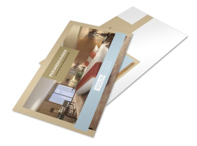 Hotels Postcard Template 2