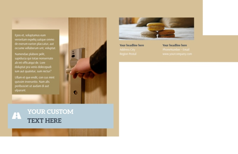 Hotels Postcard Template Preview 3
