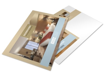 Hotels Postcard Template preview