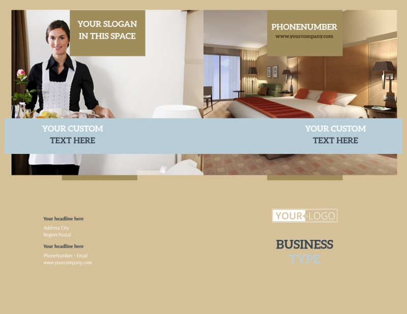 Hotel Brochure Template Preview 2
