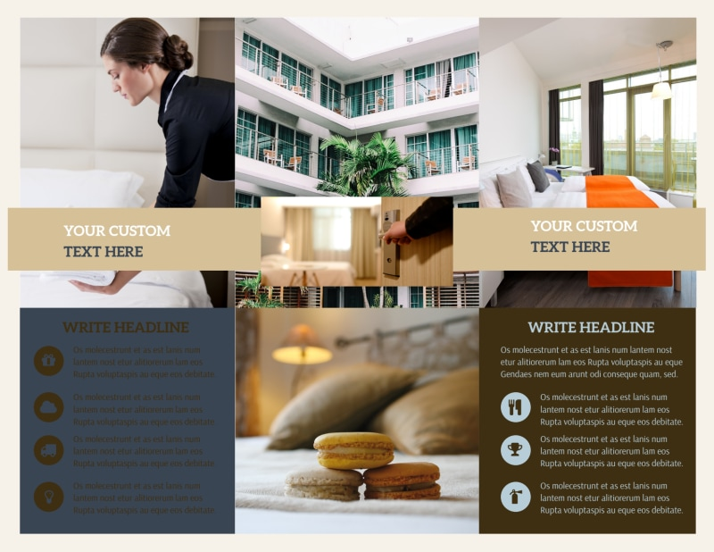 Hotel Brochure Template Preview 3