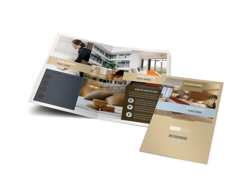 Hotel Brochure Template Preview 1