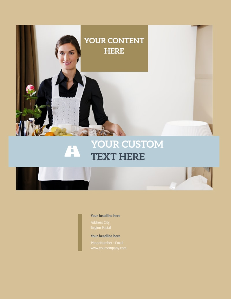 Hotels Flyer Template Preview 3