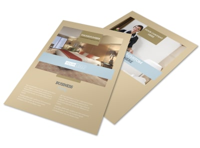 Hotels Flyer Template