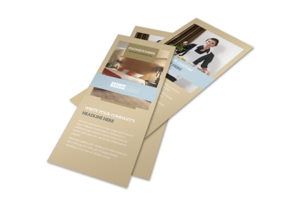 Hotels Flyer Template 2