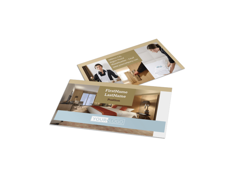 Hotels Business Card Template Preview 1