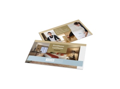 Hotels Business Card Template preview