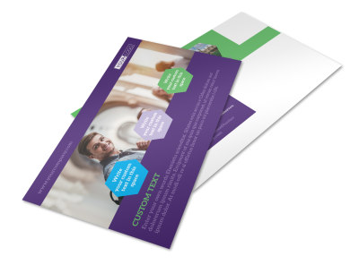 Student Accommodations Postcard Template 2 preview