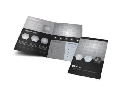 Generic Bi-Fold Brochure Template 9846 preview