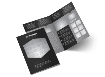 Generic Bi-Fold Brochure Template 9851 preview